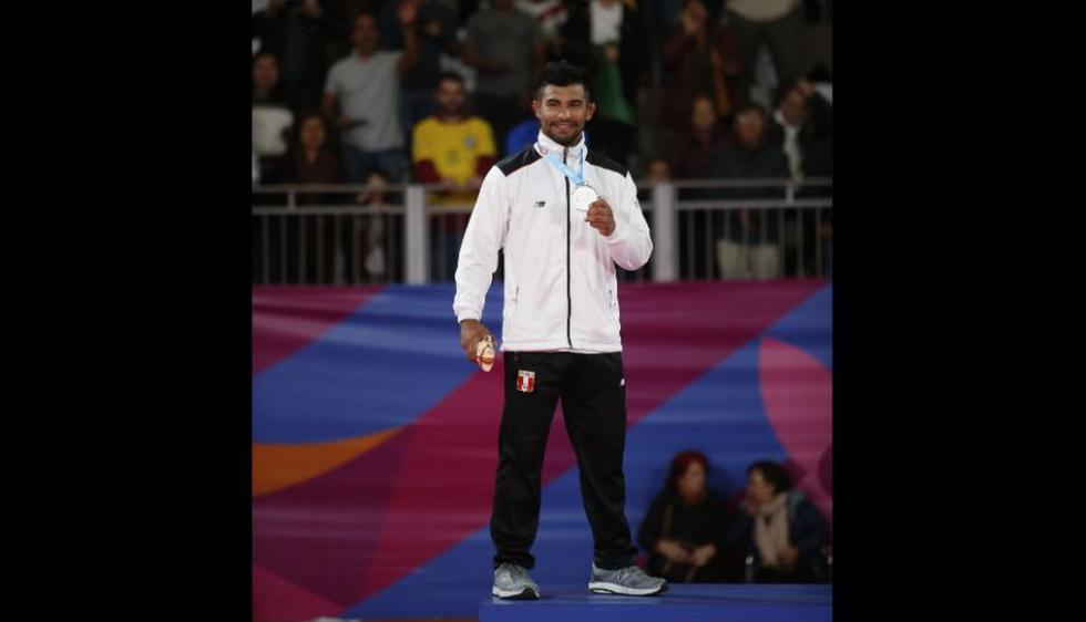 Alonso Wong ganó medalla de plata en la categoría 73 kg. (Fotos: Hugo Pèrez Torrejón)