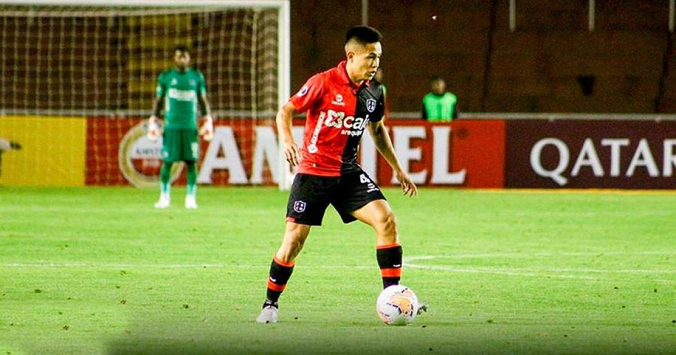 Jesús Pretell - Melgar.  (Photo: Ligue 1)