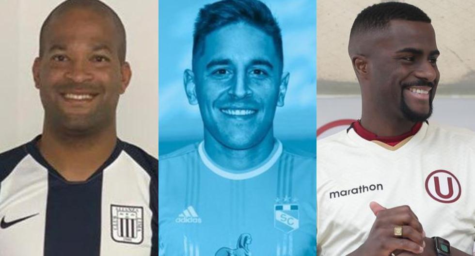 Futbolistas que jugaron en Alianza Lima, Universitario y Sporting Cristal (Foto: GEC / Facebook)