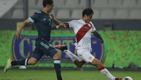 El mensaje de Conmebol en la previa del Perú vs. Argentina por Eliminatorias Qatar 2022. (Foto: AFP)