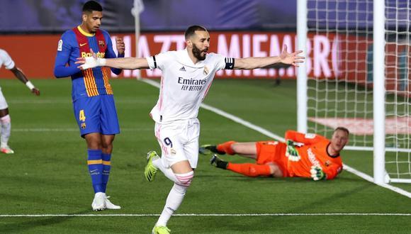Real Madrid le ganó 2-1 a Barcelona (Foto: Agencias)