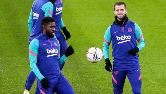 El Barcelona le dio la carta de libertad a Umtiti y Pjanic. (Foto: As)