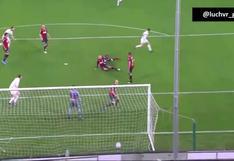 Al mejor estilo de Robben: el golazo de Gianluca Lapadula para el 2-1 de Benevento vs. Genoa [VIDEO]