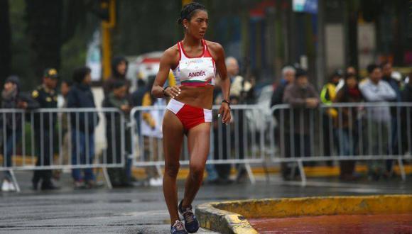 Mary Luz Anda consiguió la marca mínima para Tokio 2020 en una competencia de marcha atlética 20k España el año pasado. Ella registró 1h30m50s, diez segundos menos que el límite (1h31m). (Foto: Fernando Sangama/GEC)