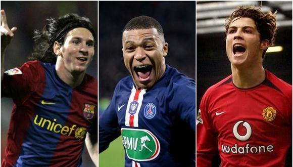Cristiano Ronaldo es el máximo goleador de la Champions League, seguido de Lionel Messi. (Getty)
