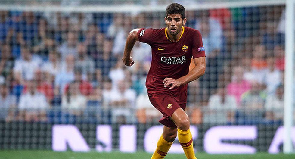 Jugador: Federico Fazio / Club: AS Roma. (Getty)