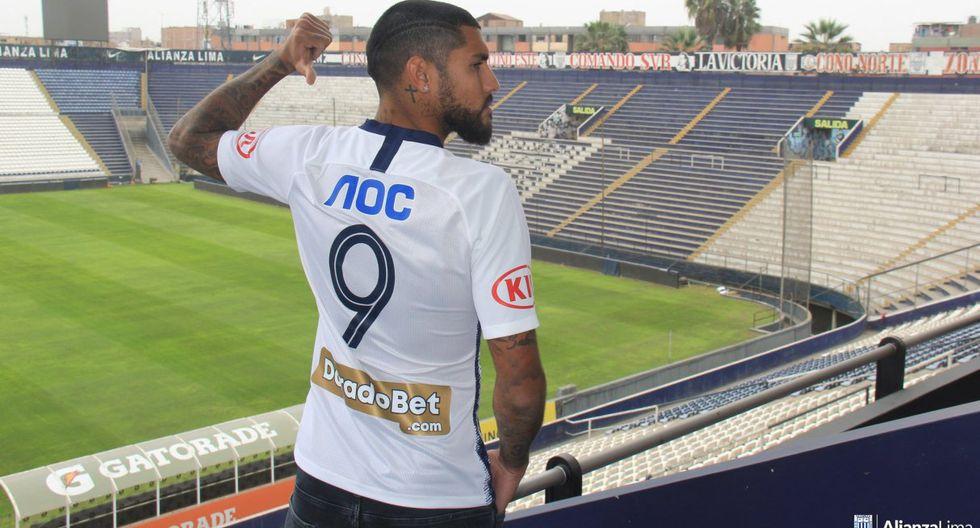 Alianza Lima ya tiene a su '9' para el Torneo Clausura. (Prensa Alianza Lima)