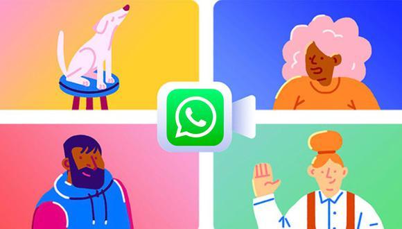 Conoce el método para realizar videollamadas con hasta 50 personas en WhatsApp. (Foto: Facebook)