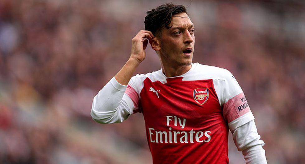 Jugador: Mesut Oezil / Club: Arsenal. (Getty)