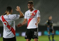 Doblete de Girotii: River venció 2-1 a Tucumán y clasificó a octavos de final de Copa Argentina