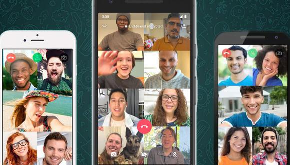 Cómo unirte a una videollamada de WhatsApp que ya inició. (Foto: WhatsApp)
