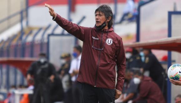 Ángel Comizzo cumple su tercera etapa como entrenador de Universitario de Deportes. (Foto: Liga 1)