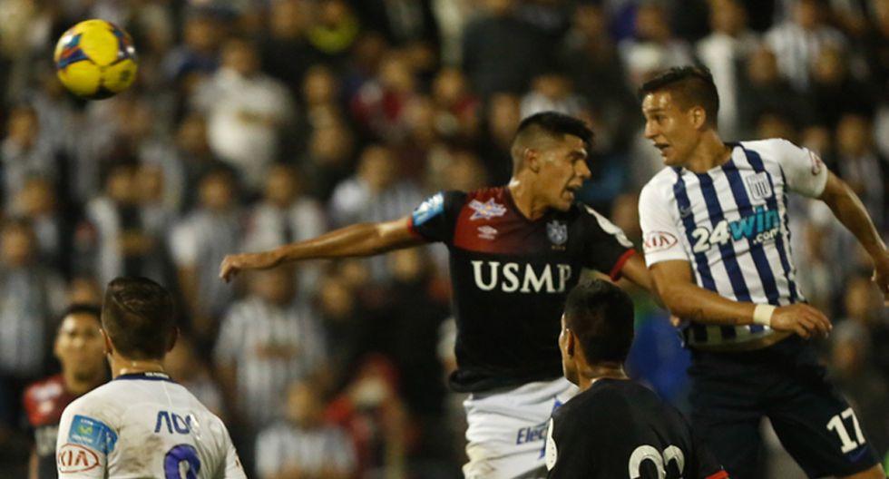 Gonzalo Godoy marcó un doblete ante San Martín, un día como hoy hace un año. (USI)