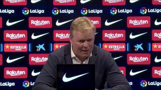"""Koeman: """"El Barcelona de hoy en día no es el de hace ocho años"""""""