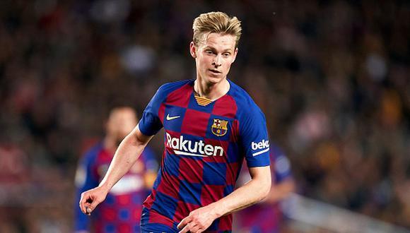 Frenkie de Jong llegó al Barcelona proveniente del Ajax. (Foto: Getty Images)