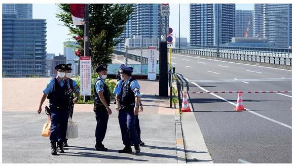 """Más de cien personas fueron desalojadas en un intento de """"liberar el tráfico"""" luego del paso de la antorcha olímpica. Este acto es similar a lo que ocurrió en Pekín 2008."""