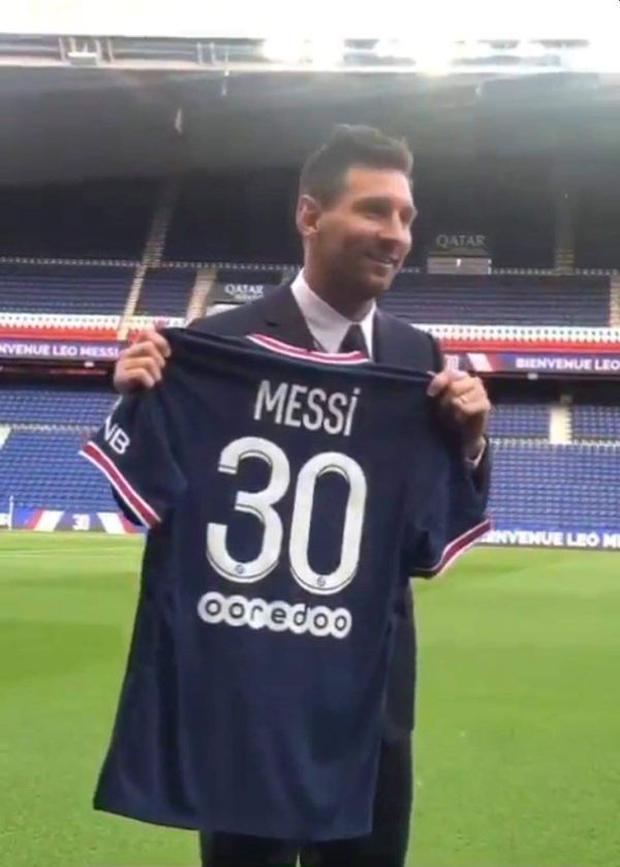 Lionel Messi en PSG: revelan que el atacante llevará la camiseta número 30  y es oficializado en redes sociales   Francia   VIDEO nczd    FUTBOL-INTERNACIONAL   DEPOR