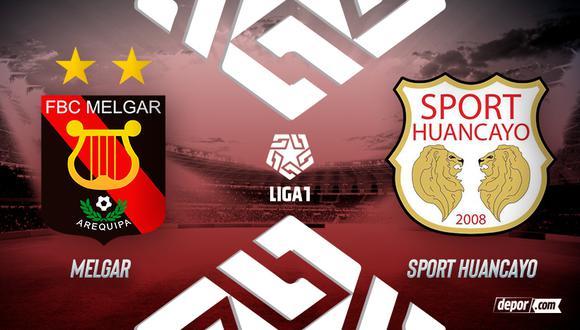 Melgar vs. Sport Huancayo se enfrentan por la fecha 8 de la Fase 2 (Diseño:DEPOR)