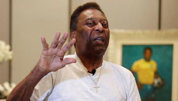 Pelé estuvo internado seis días en hospital de Sao Paulo y fue intervenido el sábado. (Foto: EFE)