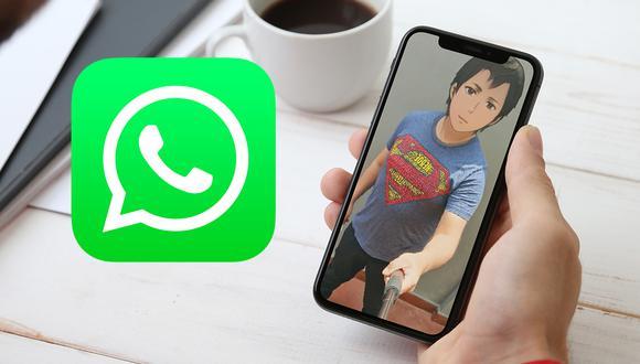 ¡Sorprende a tus amigos con este filtro de WhatsApp que te convierte en ánime! (Foto: Mockup / Depor)