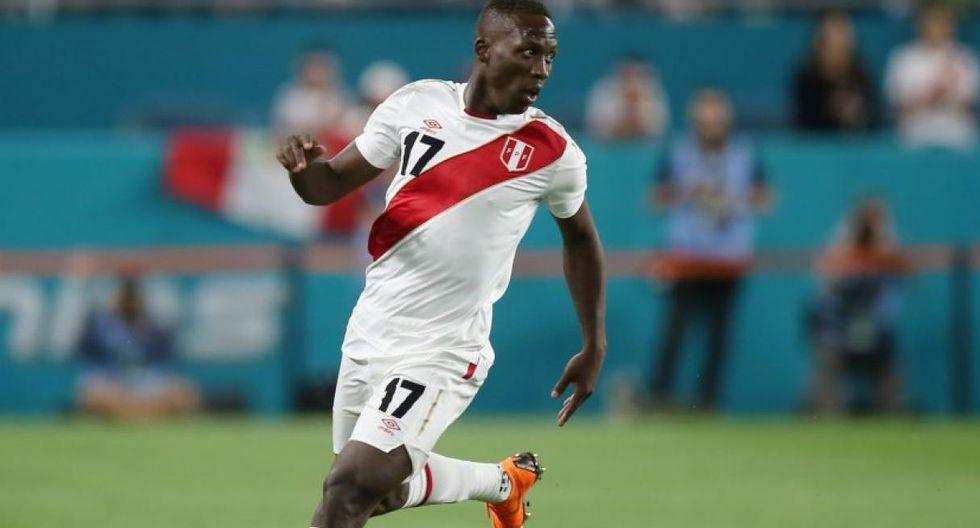 Selección Peruana: Luis Advíncula. (Foto: Daniel Apuy)