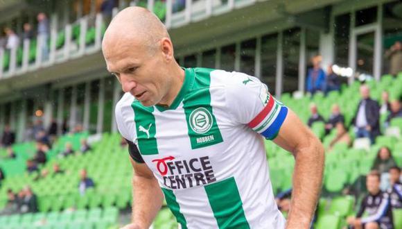 Arjen Robben tiene contrato con Groningen hasta mediados del 2021. (Foto: FC Groningen)