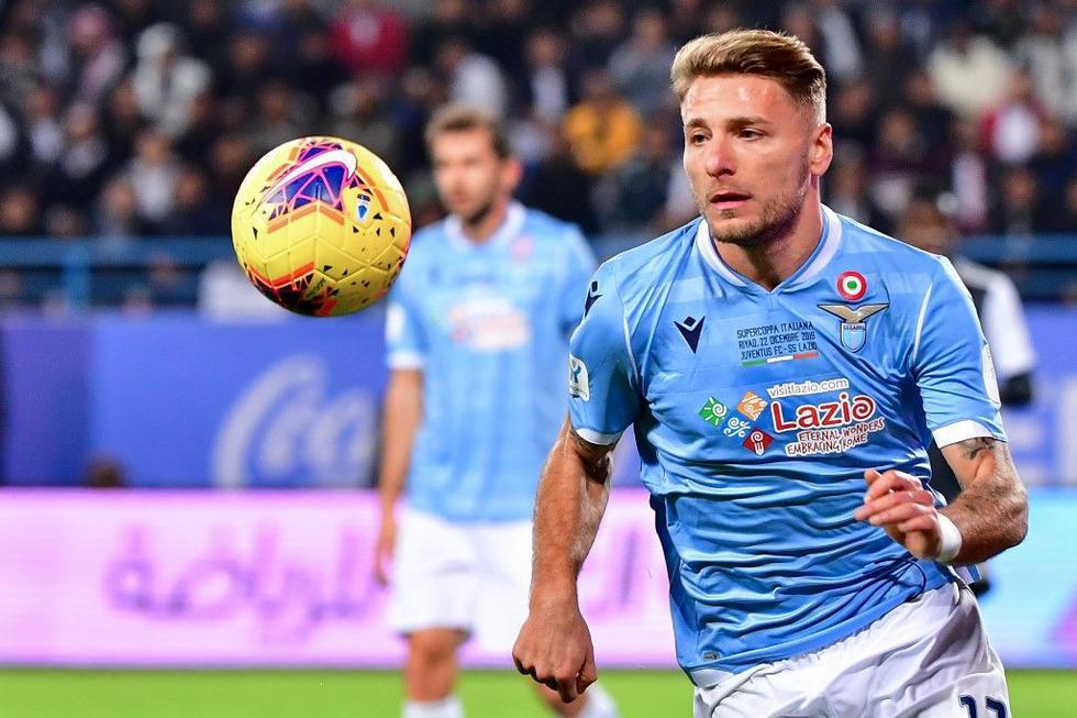 Immobile, con una producción de 27 goles (54 puntos) jugando por Lazio, tiene doce fechas para prolongar su racha. (Foto: AFP)