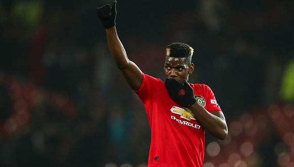 Paul Pogba es una de las estrellas que hoy militan en el Manchester United. (Foto: Getty Images)