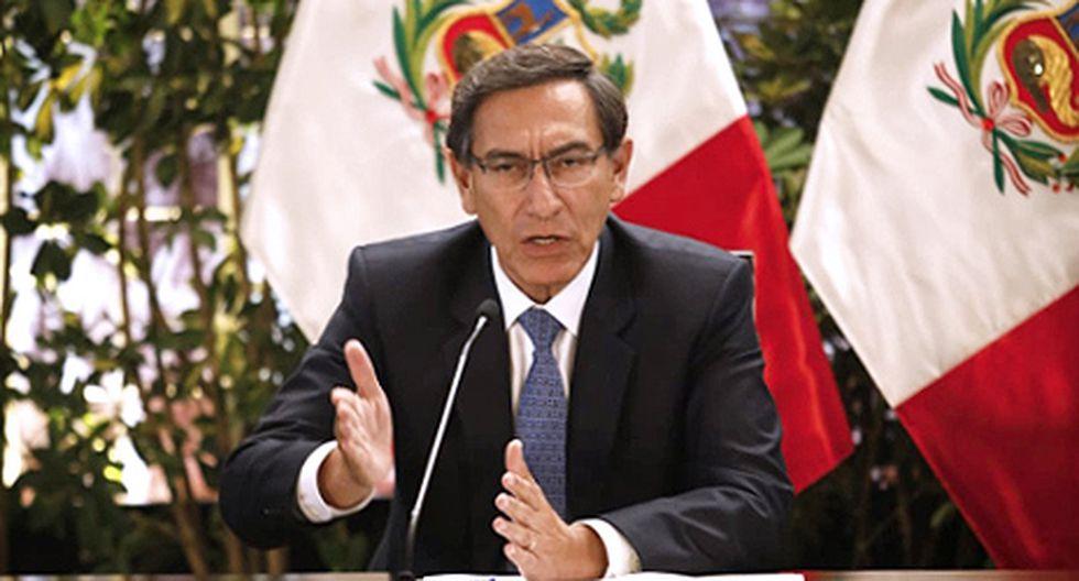 Presidente Vizcarra anuncia nuevas medidas ante propagación de coronavirus en Perú (Foto: José Rojas Bashe)