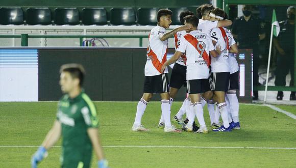 River Plate alcanzó a Banfield en la punta del Grupo 3.