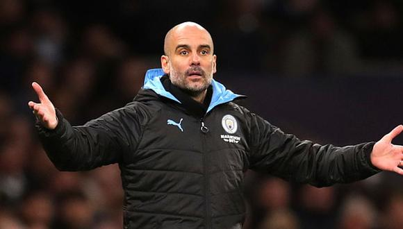 Guardiola llegó al Manchester City en la temporada 2016. (Getty)