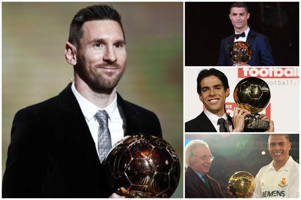 Los últimos 25 ganadores del Balón de Oro. (Fotos: Agencias)