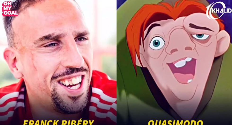 Franck Ribéry. (Foto/Captura: YouTube)