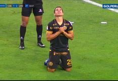 Metió un 'mazazo': Corzo consiguió un importante gol de cabeza para el 2-1 de la 'U' ante Sporting Cristal [VIDEO]