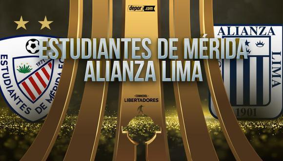 Alianza Lima enfrenta a Estudiantes de Mérida, por la Fecha 3 de la fase de grupos de la Libertadores. (Foto: Depor.com)