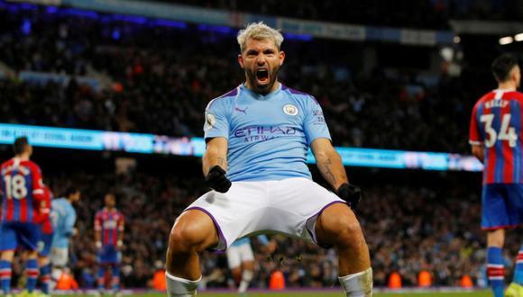 Sergio Agüero acaba contrato esta temporada con el Manchester City. (Foto: Reuters)