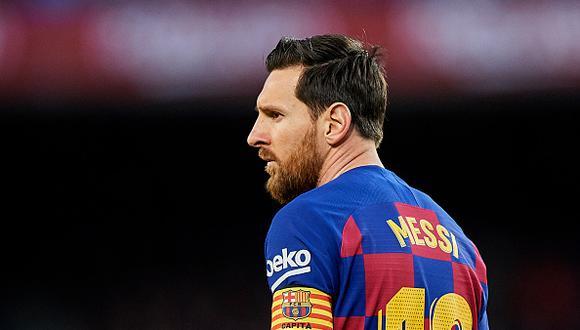 Lionel Messi juega como delantero en el Barcelona. (Foto: Getty Images)