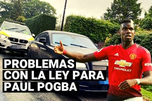 Problemas con la ley para Paul Pogba, la policía incautó su lujoso auto