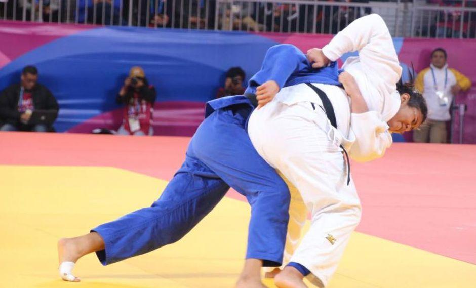 Yuliana Bolivar ganó la vigésima medalla de bronce para Perú en Lima 2019. (Foto: Judo Perú)