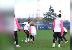 Neymar hizo trizas a Xavi Simons: espectacular 'caño' y risas de Pochettino en práctica del PSG [VIDEO VIRAL]