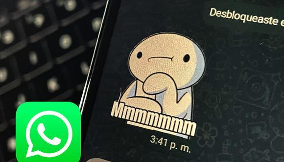 Cómo evitar los stickers que traen virus o malware en WhatsApp. Sigue estos pasos. (Foto: Depor)