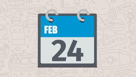 ¿Sabes realmente qué significa la fecha del emoji del calendario de WhatsApp? Esta es la razón. (Foto: Emojipedia)