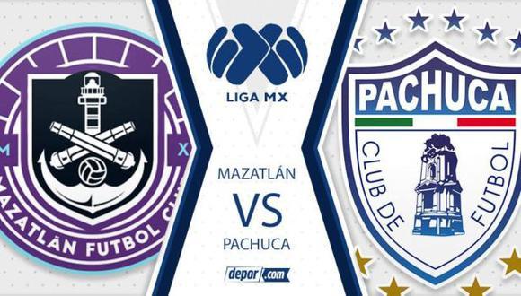 Pachuca y Mazatlán salen en busca de una victoria en el Guard1anes 2021. (Foto: Depor)