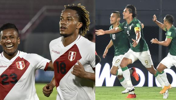 Perú y Bolivia se verán las caras por la fecha 5 de las Eliminatorias Qatar 2022.