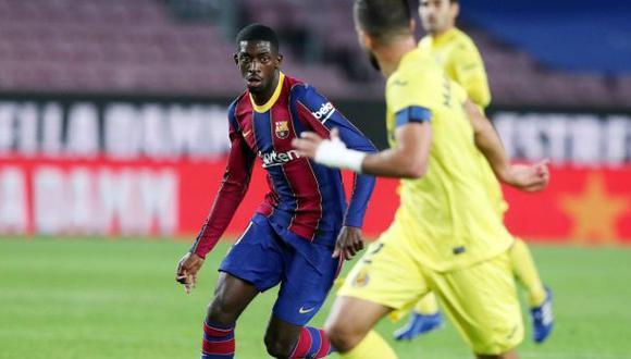 Ousmane Dembélé llegó al Barcelona en el verano de 2017. (Foto: FC Barcelona)