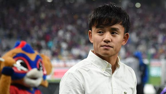 Takefusa Kubo jugó en el Tokyo FC antes de llegar al Real Madrid. (Getty Images)