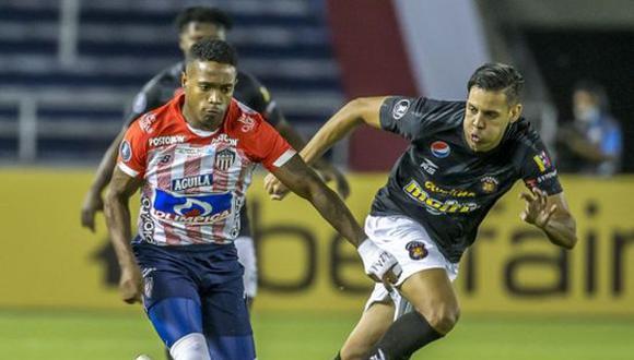 Junior goleó por 3-1 a Caracas y selló su pase a la fase 3 de la Copa Libertadores 2021. (Foto: CONMEBOL)