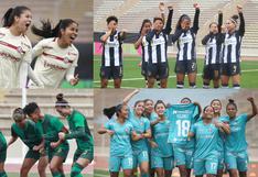 ¡Unas máquinas! Así llegan Universitario y Alianza Lima al clásico del fútbol femenino