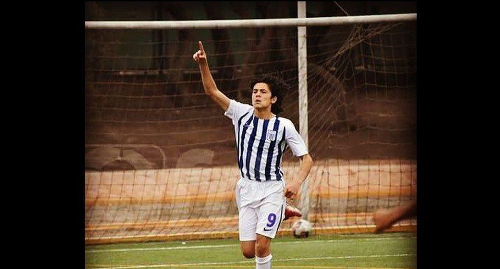 Edison Cavani: el juvenil de Alianza Lima que se parece al crack uruguayo y sueña con emularlo. (FDM)