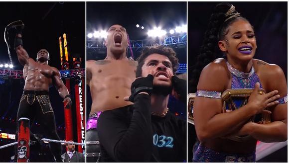 Los mejores momentos del día 1 de WrestleMania 37 desde Florida. (WWE)